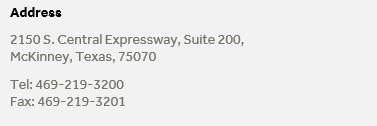 McKinney_Regus_Address