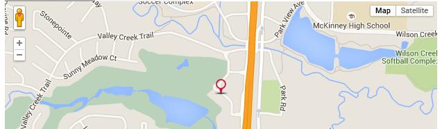 McKinney_Regus_Map