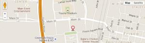 Frisco_Regus_Map